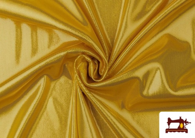 Comprar online Tela de Lame Económico Dorado y Colores Brillantes Metalizados color Dorado