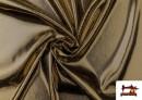 Venta online de Tela de Lame Económico Dorado y Colores Brillantes Metalizados color Champagne