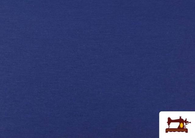 Comprar Tela de Loneta de Colores color Azulón