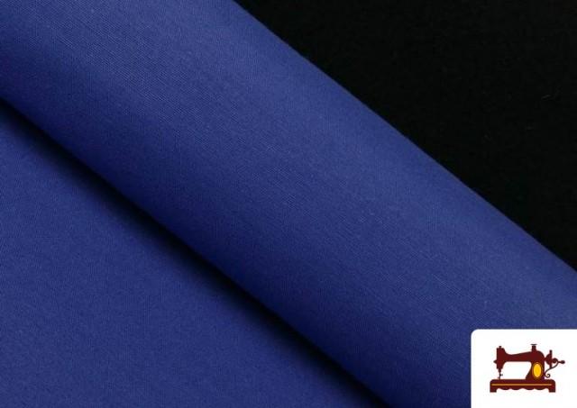 Venta de Tela de Loneta de Colores color Azulón