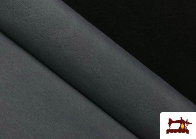 Tela de Loneta de Colores color Gris oscuro