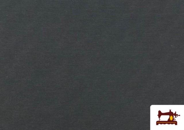 Comprar Tela de Loneta de Colores color Gris oscuro