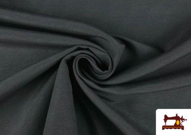 Venta de Tela de Loneta de Colores color Gris oscuro