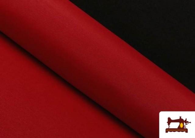 Comprar online Tela de Loneta de Colores color Rojo