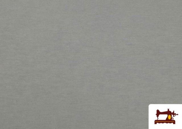 Comprar online Tela de Loneta de Colores color Gris claro