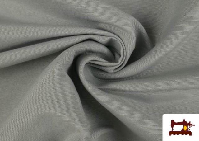 Venta online de Tela de Loneta de Colores color Gris claro
