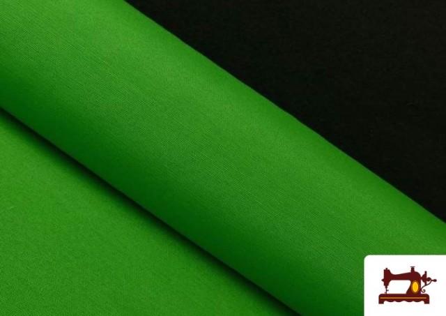 Venta online de Tela de Loneta de Colores color Verde
