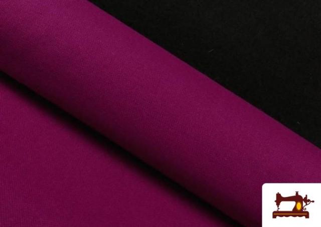 Tela de Loneta de Colores color Buganvilla
