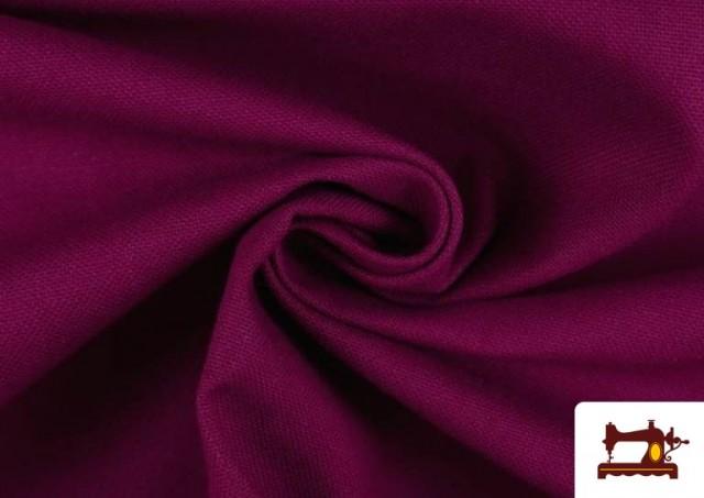 Venta de Tela de Loneta de Colores color Buganvilla