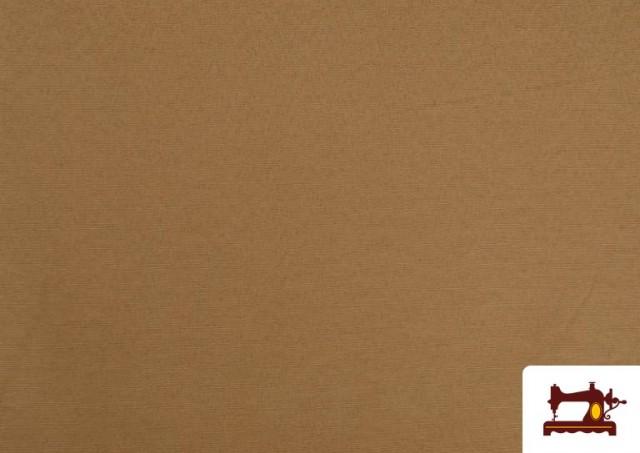 Venta online de Tela de Loneta de Colores color Tostado