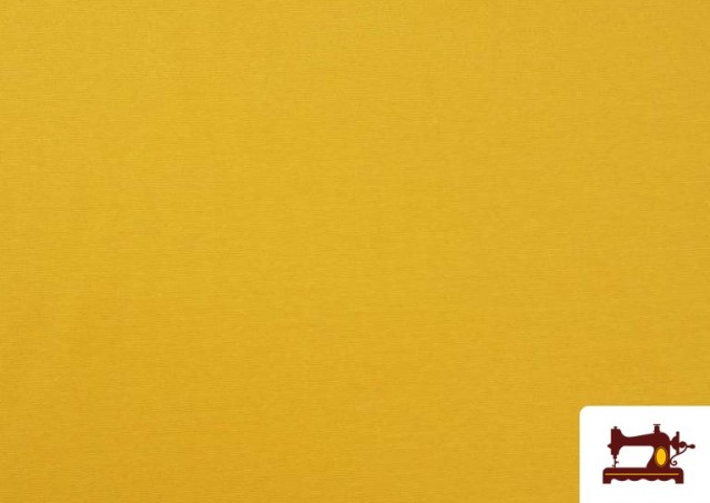 Tela de Loneta de Colores color Amarillo