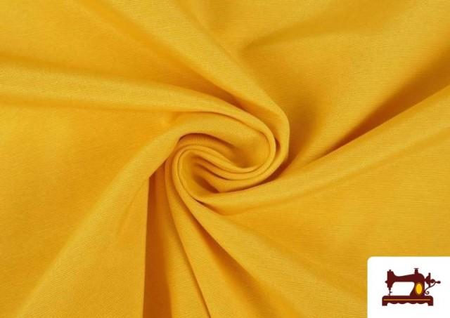 Comprar Tela de Loneta de Colores color Amarillo