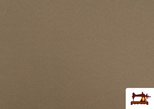 Comprar online Tela de Loneta de Colores color Beige