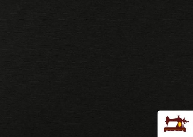 Tela de Loneta de Colores color Negro