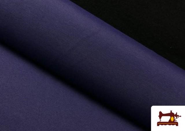 Comprar online Tela de Loneta de Colores color Azul Marino