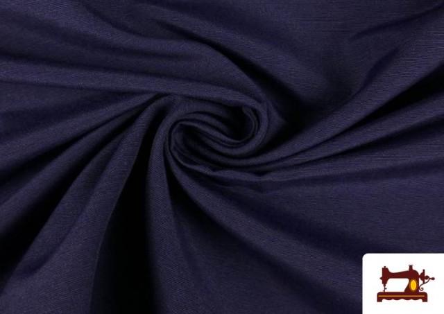 Tela de Loneta de Colores color Azul Marino