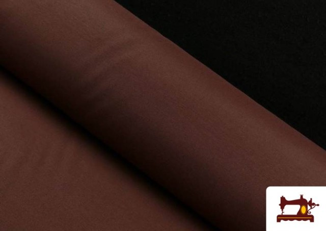 Tela de Loneta de Colores color Marrón