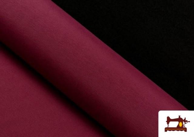 Venta de Tela de Loneta de Colores color Granate