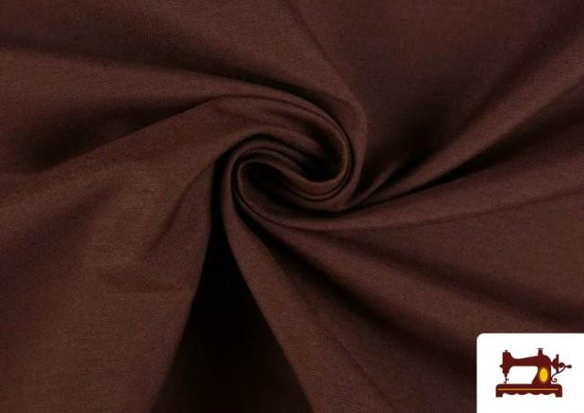 Comprar Tela de Loneta de Colores color Marrón