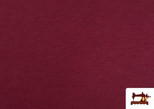 Comprar online Tela de Loneta de Colores color Granate