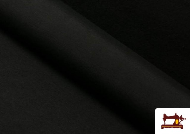 Comprar Tela de Loneta de Colores color Negro
