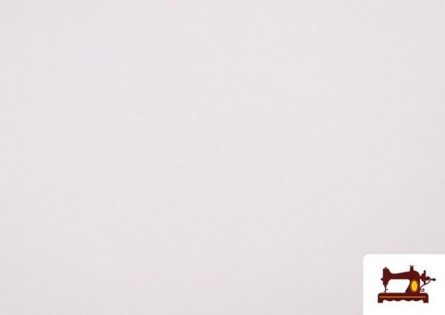 Tela para Mascarillas Certificada Antibacteriana e Hidrófuga color Blanco