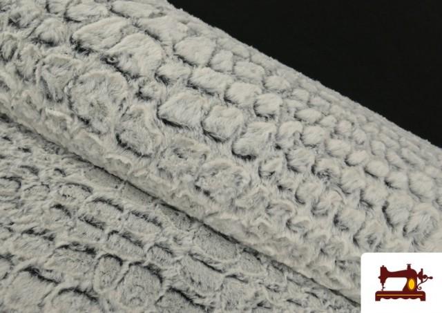 Tela de Pelo Suave Textura Animal Print