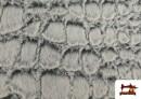 Venta de Tela de Pelo Suave Textura Animal Print