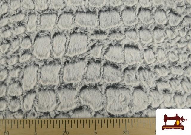 Venta online de Tela de Pelo Suave Textura Animal Print