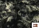Venta online de Tela de Pelo Suave para Cuellos y Vestuario color Gris