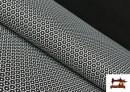 Comprar Punto de Viscosa Estampado Mini Geométrico color Negro