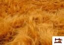 Comprar online Tela de Pelo Largo Cobrizo Mostaza - Disfraces de León