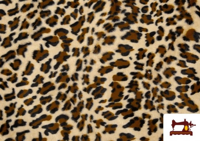 Comprar Tela Estampado de Leopardo - Pelo Corto