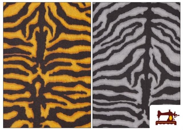 Comprar Tela de Loneta  Tigre Animal  print