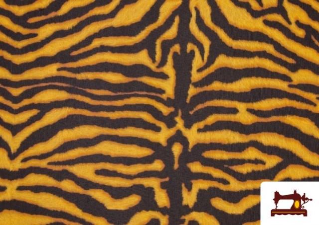 Comprar online Tela de Loneta  Tigre Animal  print