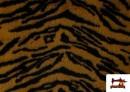 Tela de Pelo de Tigre de Fantasía