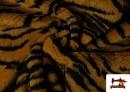 Venta de Tela de Pelo de Tigre de Fantasía