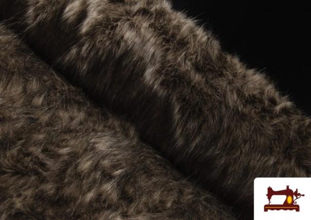 Tela de Pelo Rústico Envejecido para Disfraces Medievales y Vikingos