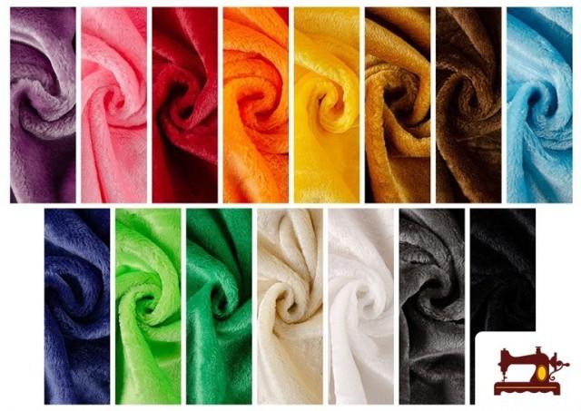 Tela de Pelo Corto de Colores