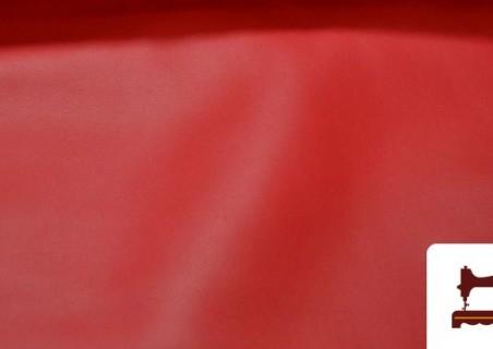 Tela de Polipiel Roja Simil Escai