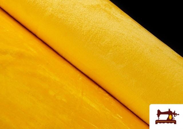 Venta online de Tela de Pelo Corto de Colores color Amarillo