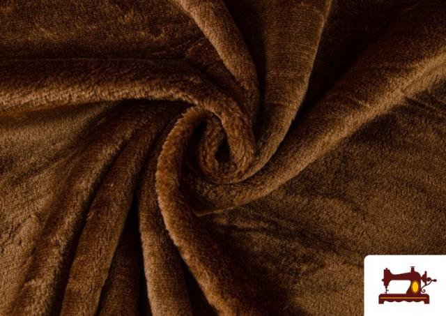 Comprar Tela de Pelo Corto de Colores color Marrón