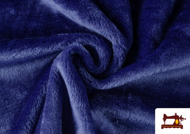 Venta de Tela de Pelo Corto de Colores color Azulón