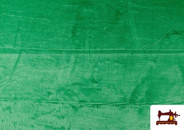 Comprar Tela de Pelo Corto de Colores color Verde