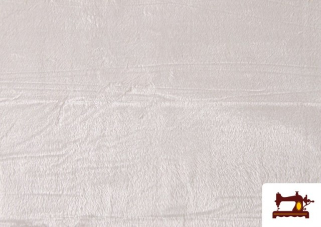Comprar Tela de Pelo Corto de Colores color Blanco
