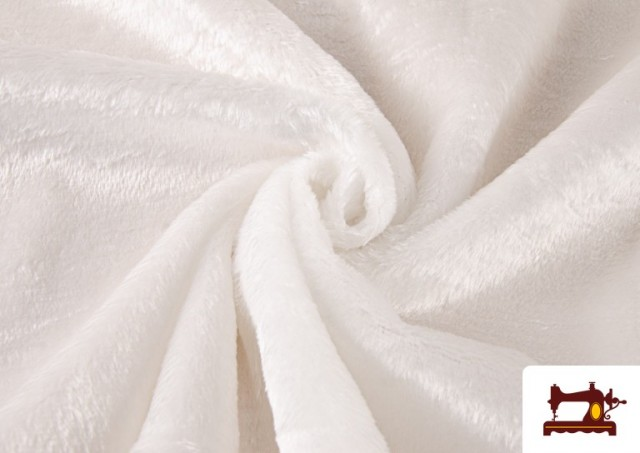 Comprar Tela de Pelo Corto Blanco