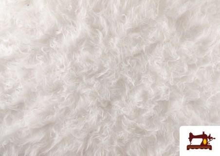 Comprar Tela de Pelo Blanco Largo para Disfraces de Animales