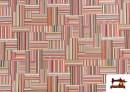 Venta de Tela de  Tapicería Gobelino Multicolor