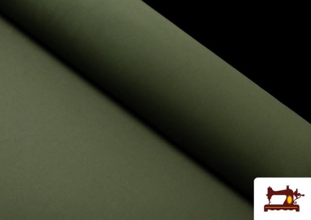 Comprar online Tela de Punto de Camiseta de Colores Nueva Temporada. color Verde botella