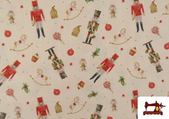 Venta de Tela de Algodón de Navidad Cascanueces